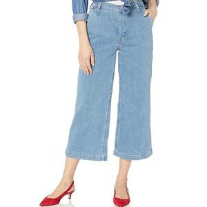 High Rise Wide Leg Jeans (worn once)